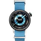 BOMBERG 炸彈錶 BB-01 休閒女錶-藍皮帶/38mm