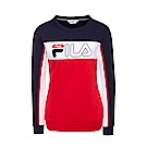 FILA 女款圓領T恤-紅 5TES-5413-RD