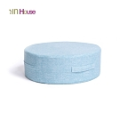 IN HOUSE-日式無壓力坐墊(圓形/藍色)