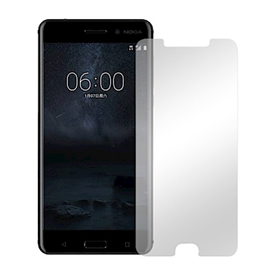 Metal-Slim Nokia 6 9H鋼化玻璃貼