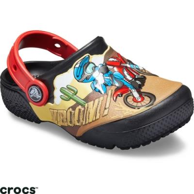 Crocs 卡駱馳 (童鞋) 趣味摩托車克駱格-205518-001