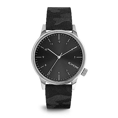 KOMONO Winston Print 腕錶-午夜迷彩/41mm