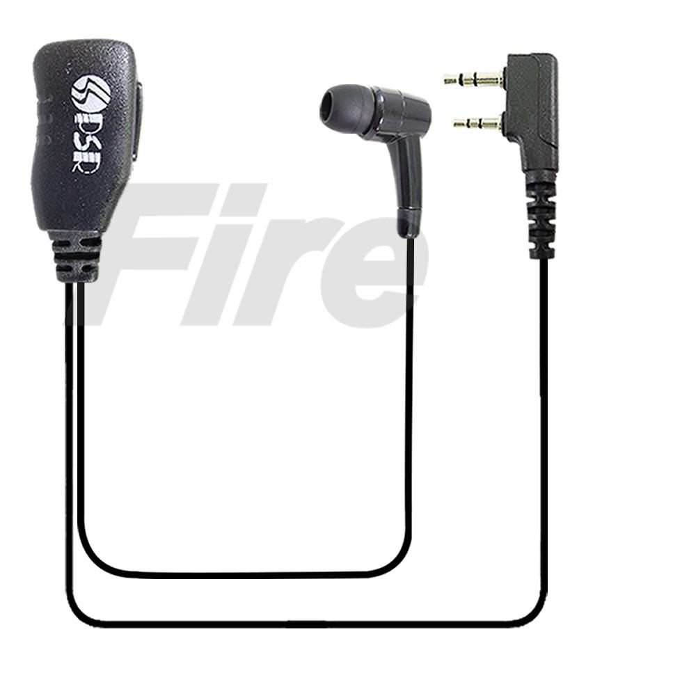 PSR PSR-358 對講機專用 入耳式 耳道式 耳機麥克風 K型 2入