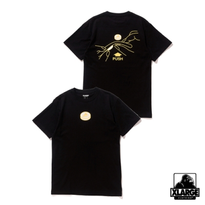 XLARGE S/S TEE TABLET短袖T恤-黑