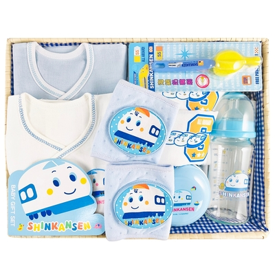 【三麗鷗SANRIO】新幹線歡樂寶寶禮盒組