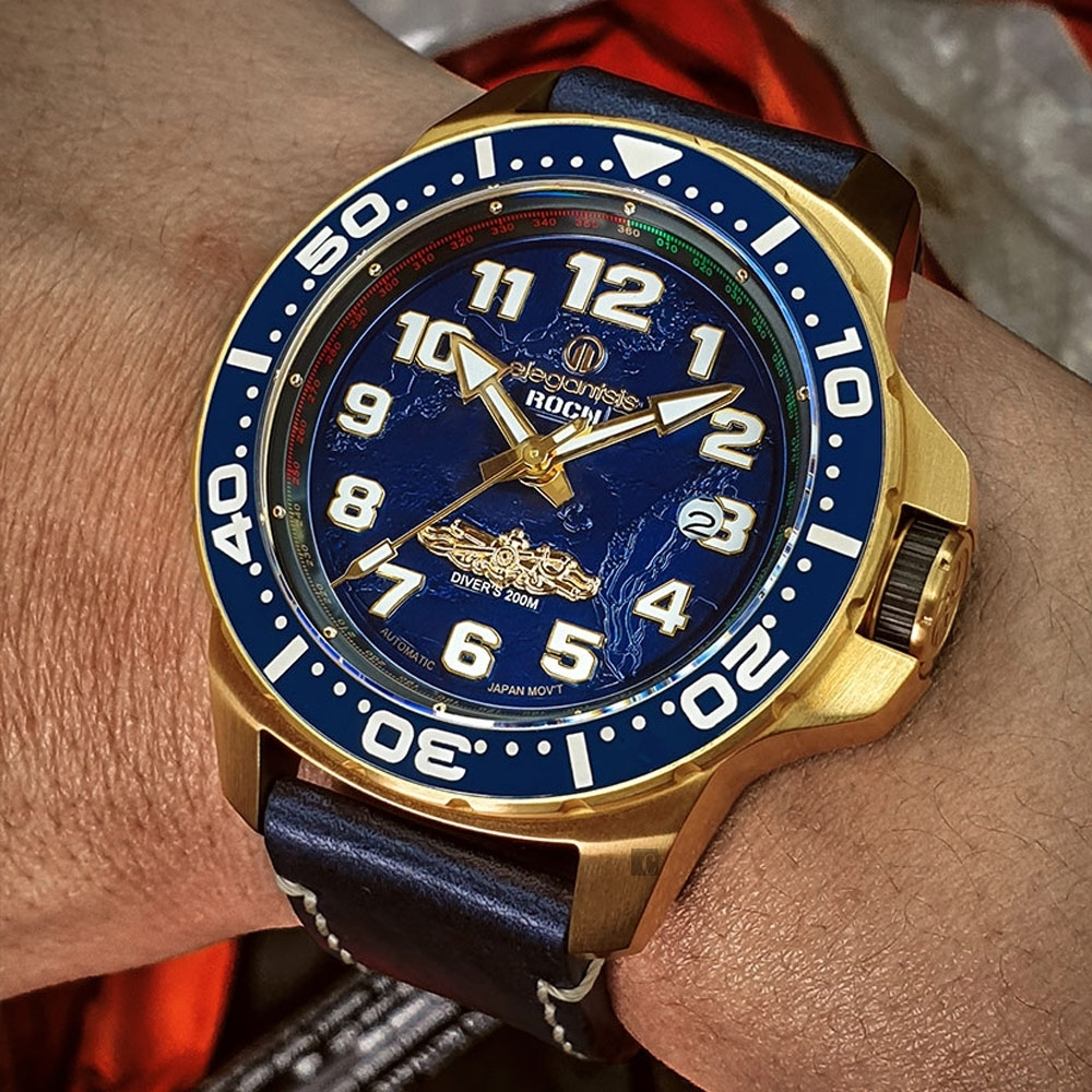 elegantsis 愛樂時 海軍艦隊2.0-九二海戰 限量機械腕錶 ELJX48MAS-ROCN-NU01LC