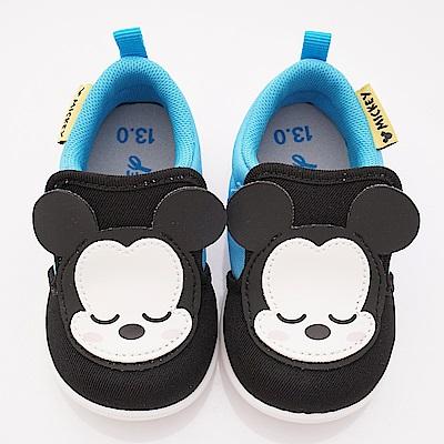 迪士尼童鞋 米奇軟軟學步款 ON18801藍(寶寶段)