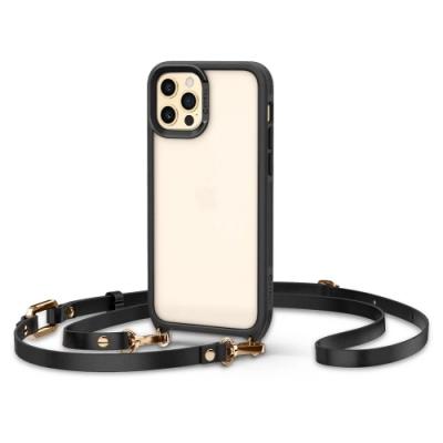 SGP / Spigen iPhone 12 /12 Pro_Ciel by CYRILL Classic Charm皮革揹帶手機殼