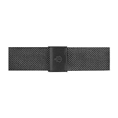 PAUL HEWITT 霧黑不鏽鋼米蘭帶款 20mm錶帶 (196mm男款)