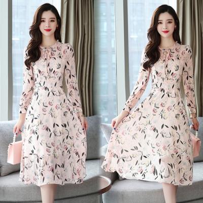 【韓國K.W.】(預購)話題單品女神雪紡洋裝-3色