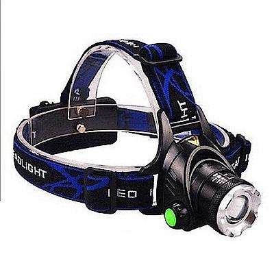 【LOTUS】強光頭燈 伸縮變焦 XM-L2 LED 燈泡 頭燈 自行車燈
