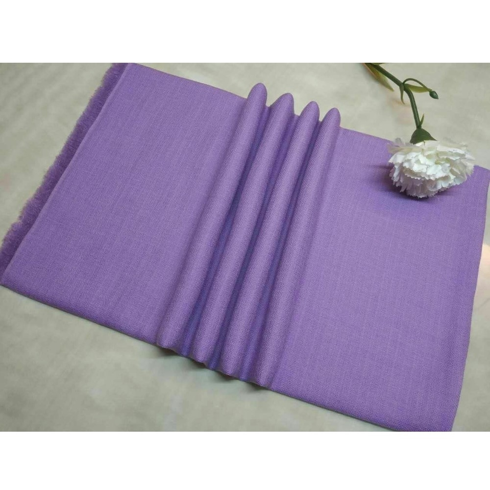 【F.M&Carol】絕色系列- 100%純喀什米爾羊絨披肩(薰衣草紫)