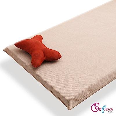 Embrace英柏絲 暖暖厚底寵物保暖墊 加厚款大寵物床墊 90x60 咖啡-L