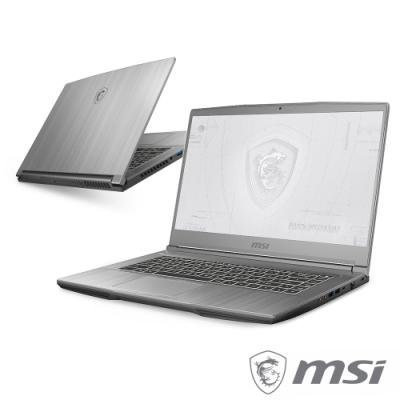 MSI微星 WF65 10TI-1454TW 15吋繪圖工作站筆電(i7-10750H/16G/1T+512G SSD/Quadro T1000-4G/W10P)