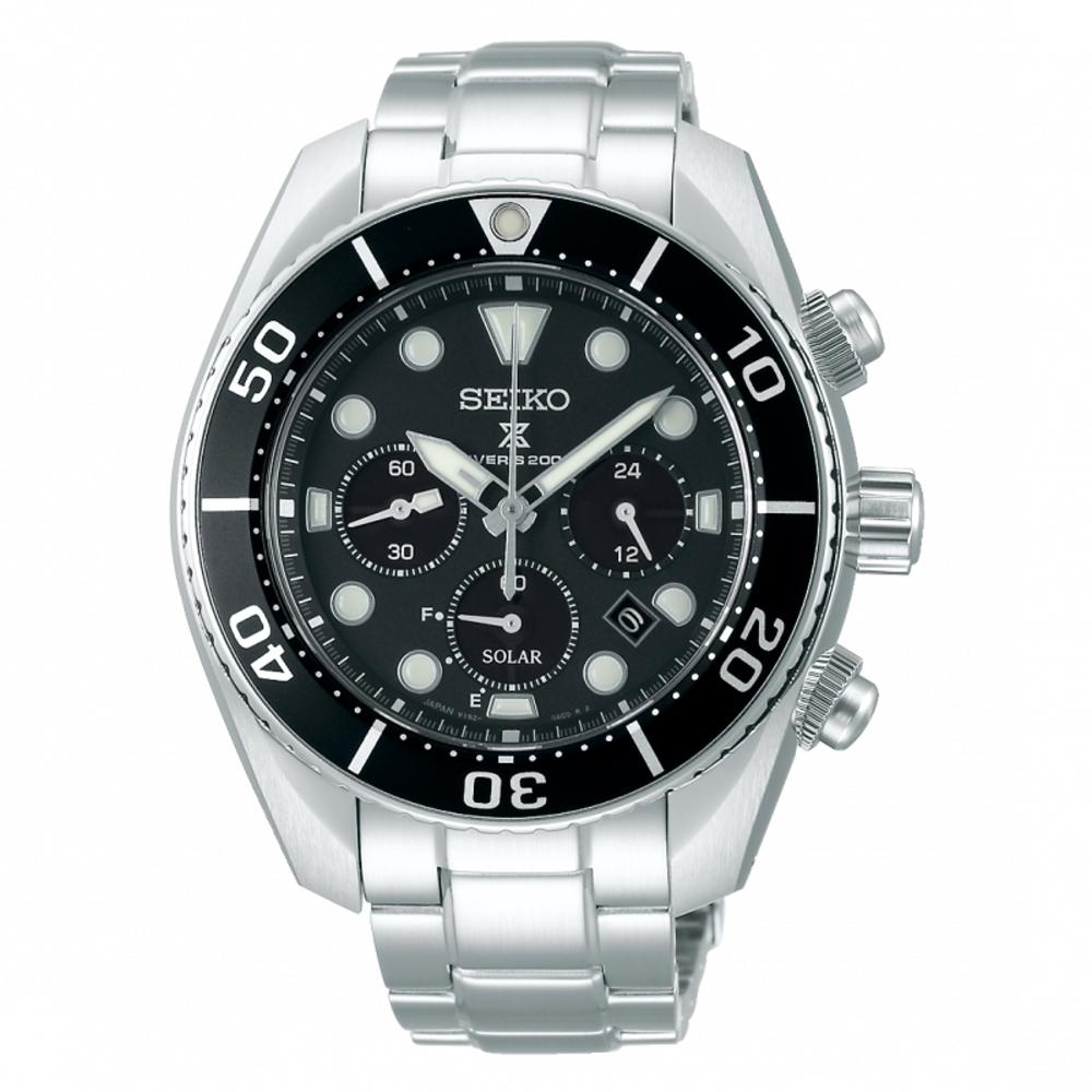 SEIKO PROSPEX新SUMO太陽能潛水腕錶V192-0AD0D(SSC757J1)