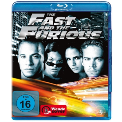 玩命關頭 The Fast and the Furious  藍光 BD