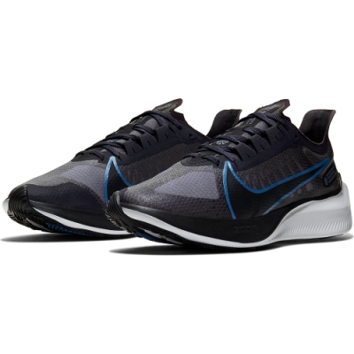 NIKE 男款 避震 健身 舒適 慢跑鞋  灰藍  BQ3202007 NIKE ZOOM GRAVITY