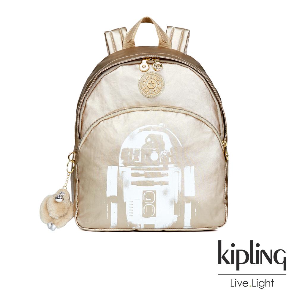 Kipling STAR WARS-經典R2-D2機器人圖騰迷你後背包- PAOLA