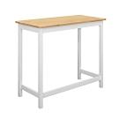 Boden-朵恩3.6尺白色實木吧台桌/洽談桌/休閒桌-108x48x91cm