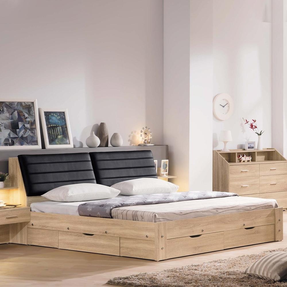 H&D 盧卡斯6尺收納床底