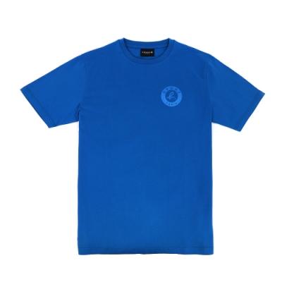 agnes b. - Sport b. 印花圓領短袖上衣(男)(藍)