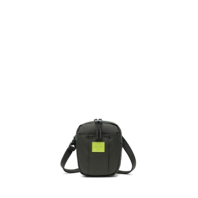 Cruz斜背包-橄欖綠