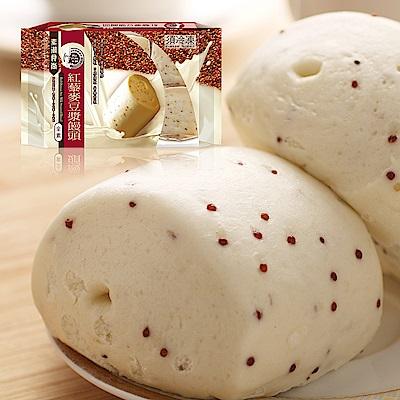 名廚美饌紅藜麥豆漿饅頭(70gx18入)