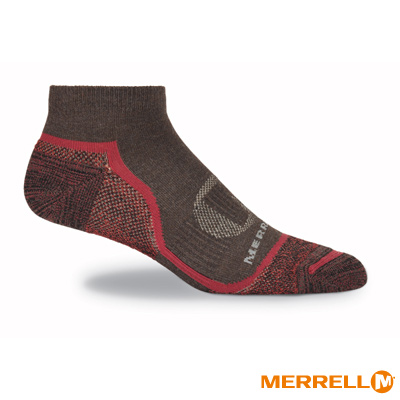 MERRELL 多功能運動襪-棕(MF0417L00201)