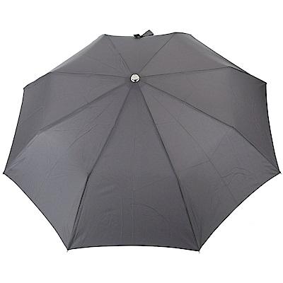 LONGCHAMP L'Envol 自動伸縮摺疊傘(灰色)