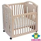 親親Ching Ching 小浣熊輕量化防撞嬰兒床(附床墊)