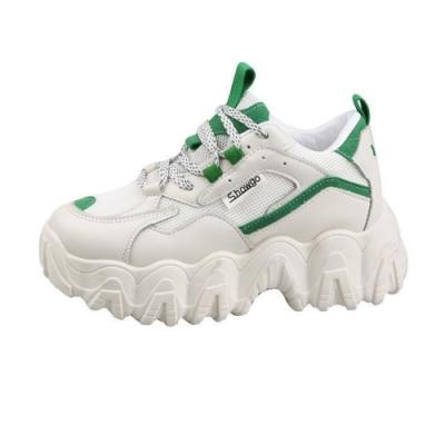 韓國KW美鞋館-輕美學典韻嚮宴運動老爹鞋(老爺鞋 運動鞋 休閒鞋)(共2色)