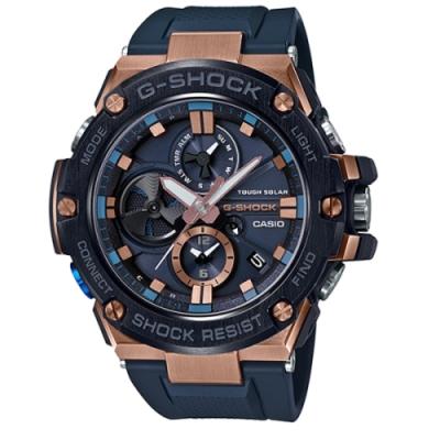 CASIO G-SHOCK 競速太陽能運動腕錶/GST-B100G-2A