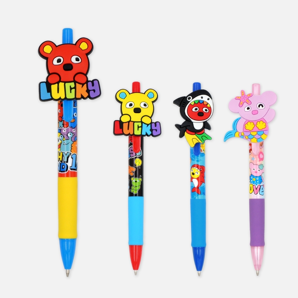 WHY AND 1/2 普普熊自動鉛筆 多色可選