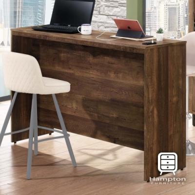 漢妮Hampton克勞德系列工業風5尺吧檯工作桌-145.5*51.5*99.5 cm