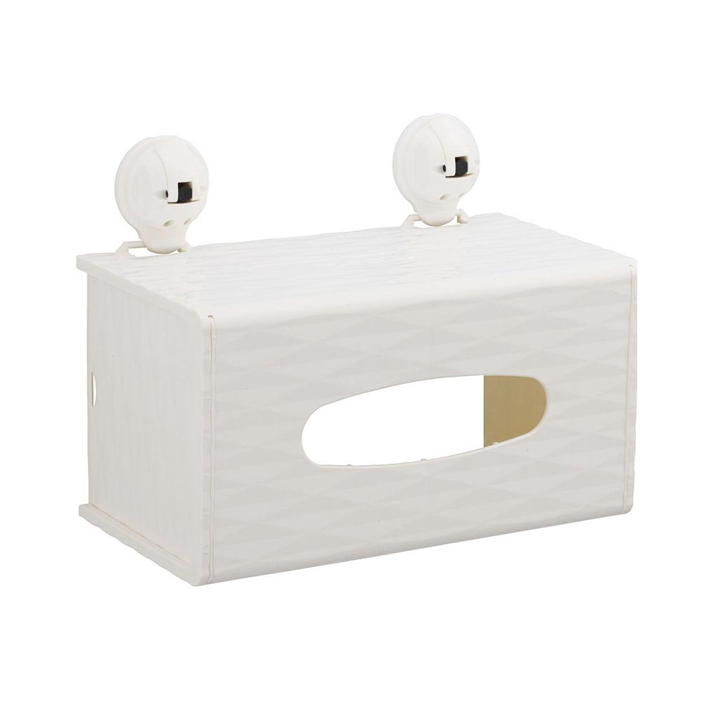 FECA非卡-無痕強力吸盤 黛安娜鑽石紋面紙盒