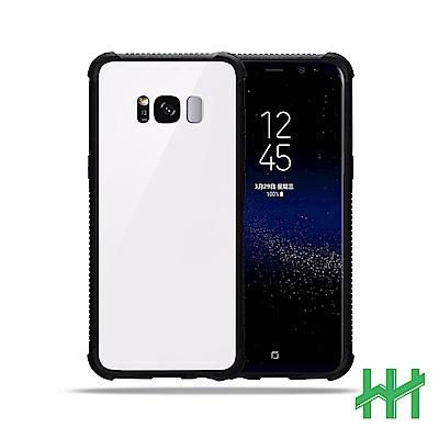 9H鋼化玻璃手機殼系列 Samsung Galaxy S8 (5.8吋) (白色)