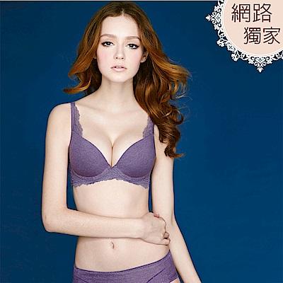 瑪登瑪朵-Soft-Life-舒適無痕-B-E罩杯內衣-神祕紫