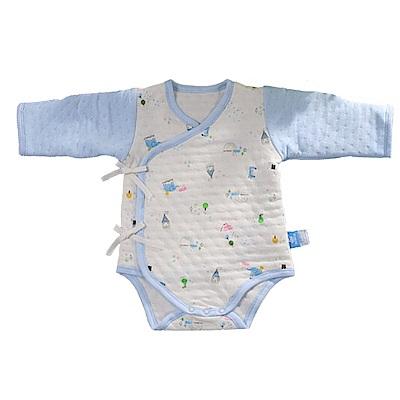三層棉純棉護手連身衣 b0099 魔法Baby