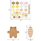 韓國進口圖案布 Fun-寶貝遊玩布圖案布-12件組