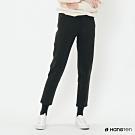 Hang Ten -女裝-素面腰部鬆緊抽繩休閒長褲