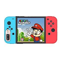【TOYSELECT】iPhone 7/8 Plus 拓伊玩玩switch設計手機殼
