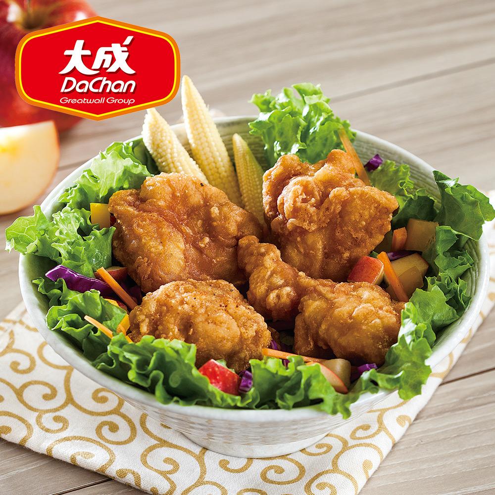 【大成-雞本享受】日式唐揚勁脆炸雞 *2包組(1kg/超值勁量包)