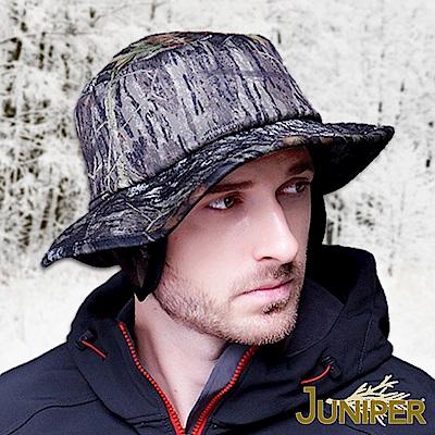 JUNIPER 防寒可換色迷彩保暖超大尺寸頭圍漁夫護耳帽