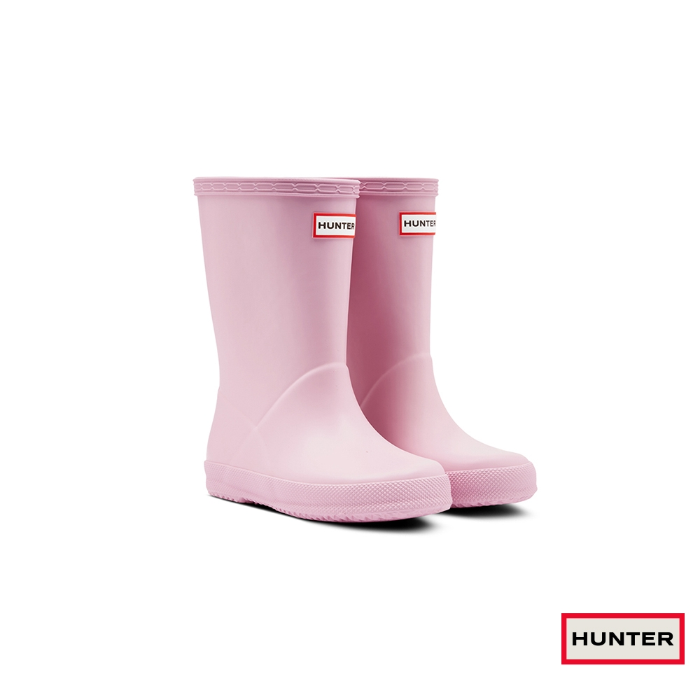 HUNTER - 童鞋 - 小童經典霧面短靴 - 櫻花粉