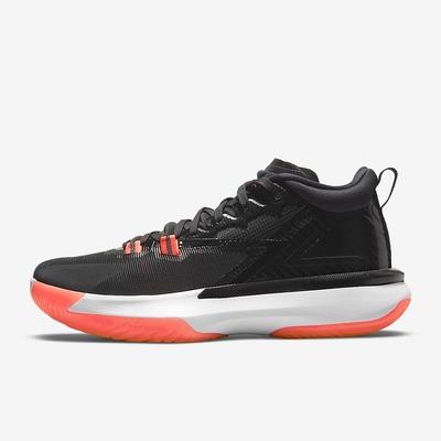 NIKE JORDAN ZION 1 PF 男籃球鞋-黑紅-DA3129006
