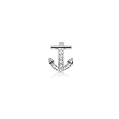 HOURRAE 奔放海洋 船錨  優雅銀色系列 小飾品