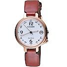 CITIZEN星辰藍牙連線光動能限量女腕錶(EE4028-10A)