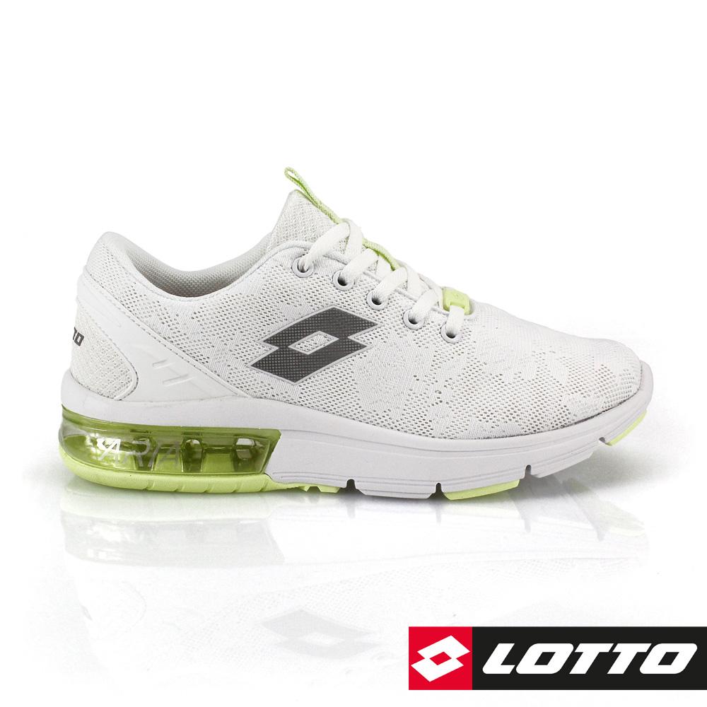 LOTTO 義大利 女 ARIA CHINO氣墊跑鞋 (白)