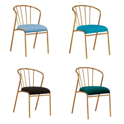 MUNA 麥克萊布餐椅/休閒椅(共四色) 47.5X54.5X77cm