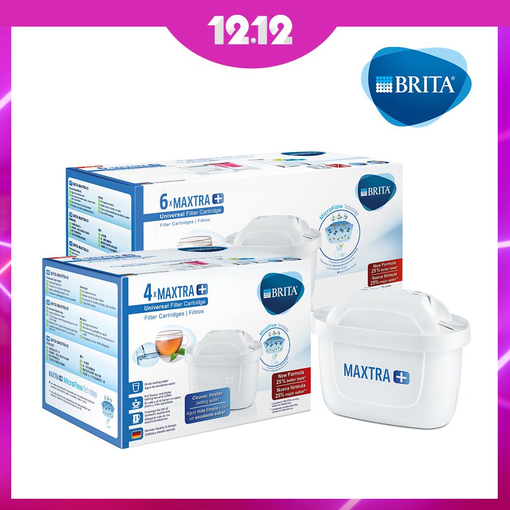 [買4送6平均160/入]德國BRITA MAXTRA Plus 4入濾芯